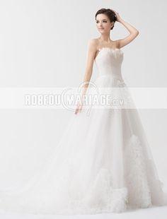 Robe mariage robe de mariée pas cher princesse romantique Prix : €139,99 Lien pour cette robe : http://www.robedumariage.com/robe-de-mariage-romantique-pas-cher-satin-traine-courte-longueur-au-sol-product-7132.html  -40% sur robe de mariée robe de soirée cocktail