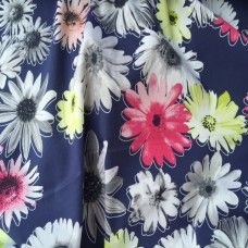 Etch Rayon and Spandex Dress Fabric