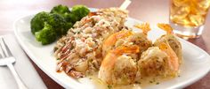 Chesapeake Shrimp with Crab