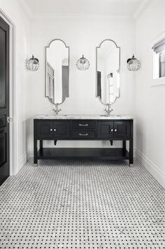 Portfolio - Christopher Scott Cabinetry & Design All White Bathroom, Master Bathroom Vanity, Bathroom Vanity Designs, Best Bathroom Vanities, Best Bathroom Designs, Bathroom Interior Design, Bathroom Ideas, Bath Ideas, Bathroom Cabinetry