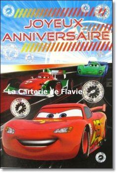Carte D Anniversaire Cars A Imprimer
