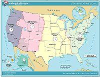 This website has great printable maps of the US, including labeled and unlabeled versions, territorial acquisitions, satellite views, time zones - and maps of each state, too.