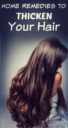 Easy Home Remedies For Women thickhair haircare + Make Hair Thicker, How To Make Hair, Hair Growth Tips, Hair Care Tips, Natural Hair Styles, Long Hair Styles, Ingrown Hair, Hair Health, Hair Loss