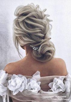 Nadi Gerber Long Wedding Hairstyles and Updos for Bride