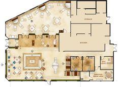 Giovanni Italian Restaurant Floor Plans Architecture