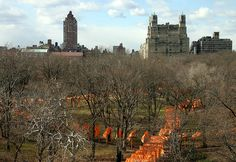 Photo taken on February 18, 2005 from the roof of the Metropolitan Museum of Art: