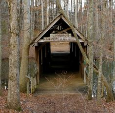 Cambron Covered Bridge, Huntsville, Alabama