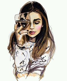 Girl Amazing Drawing | Drawing Images
