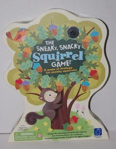 The Sneaky Snacky Squirrel Game Complete Educational Insights #EducationalInsights