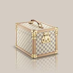 Boîte flacons via Louis Vuitton