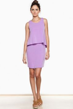 Lana Dress in Violet