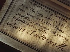 """Marie Antoinette's last inscription in her prayer book: """"My God, have pity on me! My eyes have no more tears to cry for you my poor children; farewell! farewell!"""" HowStuffWorks """"French Revolution Violence"""""""