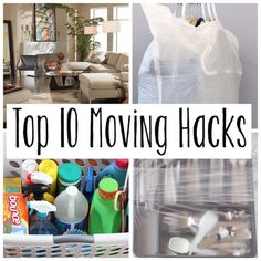 Top 10 Moving Hacks for a Painless Move