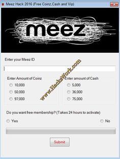 Meez Hack 2016
