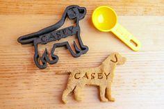 Labrador Retriever Cookie Cutter Custom Treat Personalized Pet