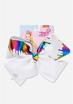 Large Paint Drip Jojo Siwa Hair Bow