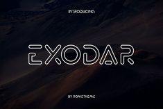 Exodar by Rometheme on @creativemarket