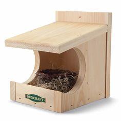 Duncraft.com: Duncraft RH5 Robin Nesting Shelter