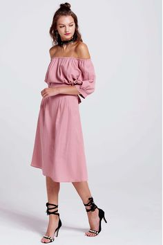 Jessica Off-the-Shoulder Dress Discover the latest fashion trends online at storets.com