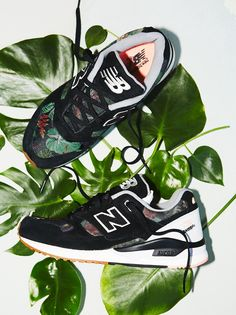 530 Floral Ink Trainer | New Balance took their classic 530 trainers from the '90s and added a floral touch. Even though this style was originally just running sneaks, it may become your favorite every day shoe. Features Encap midsole technology that provides support and maximum durability.