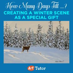 Learn how to create a beautiful winter scene with our latest blog post by guest artist Julie Askew.