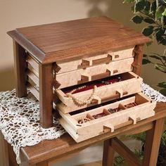Pagoda-Style Jewelry Box Woodworking Plan by Woodcraft Magazine