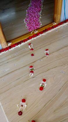 Rangoli Designs Flower, Rangoli Designs Diwali, Flower Rangoli, Beautiful Rangoli Designs, Diwali Decorations At Home, Festival Decorations, Flower Decorations, House Plants Decor, Plant Decor