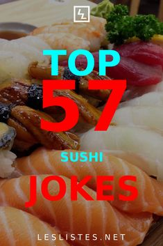 Sushi is one of the most popular food culture exports from Japan. With that in mind, check out the top 57 sushi jokes. #sushi Japanese Food Sushi, Japanese Chef, Popular Food, Popular Recipes, Sushi Puns, International Sushi Day, Kinds Of Sushi, Candy Sushi, Salmon Roll
