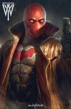 Red hood/ Sempi-i mean Jason Todd. Comic Book Characters, Comic Character, Comic Books Art, Comic Art, Image Swag, Comics Anime, Deadpool Comics, Red Hood Jason Todd, Univers Dc