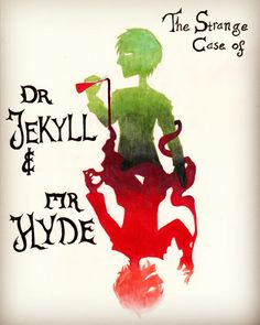 """""The Strange Case of Dr. Jekyll & Mr. Hyde"" - freewings-art Tumblr"