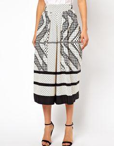 b275f441525 ASOS culottes in scarf print Together Fashion