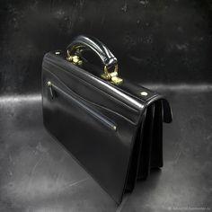 Мужские сумки ручной работы. Борсетка XL, мод 1. Labour. Ярмарка Мастеров. Портфель, деловой аксессуар, латунь