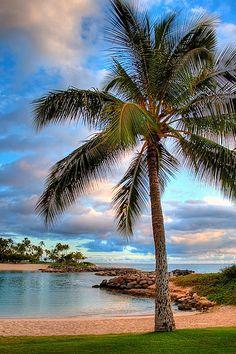 Ko Olina Lagoon, Oahu, Hawaii