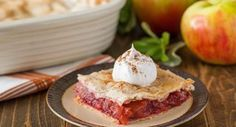 Candy Apple Slab Pie: A fall-favorite carnival dessert gets the pie treatment. Sweet apples and cinnamon spice melt together in a delectable filling for a dessert that will have your guests begging for seconds. andlt