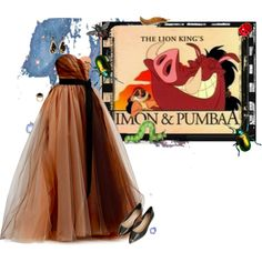 Timon and pumbaa quot by animationchic on polyvore