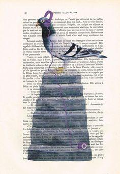 Hip Hop Pigeon, listening to music