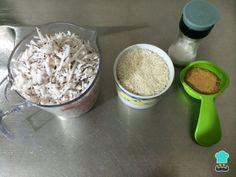 Arroz con coco caribeño - Fácil Colombian Food, Coconut Flakes, Grains, Spices, Pudding, Vegan, Desserts, Recipes, Costa