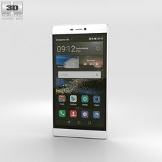 Huawei P8 P 3D Max - 3D Model