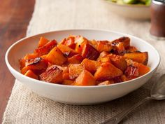 Caramelized Butternut Squash Recipe : Ina Garten : Food Network, just as well with less butter. So delicious Side Dish Recipes, Veggie Recipes, Vegetarian Recipes, Cooking Recipes, Top Recipes, Cooking Time, Dessert Recipes, Dinner Recipes, Vegetarian Meals