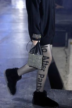 At Alexander Wang, what's more important: the clothes or the performance?