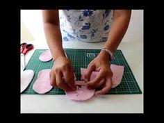 Sapatinho de feltro Passo A passo com Arte de paninho. - YouTube