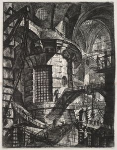 Piranesi - Le Carceri; The Round Tower  www.artexperiencenyc.com
