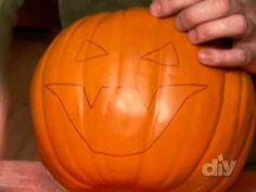 Pumpkin Carving Tips-DIY