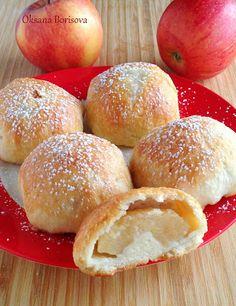 """Кулинарные моменты: Яблочный десерт """"Румяные щёчки"""""""