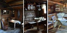 Vakker enkelhet: Den nostalgiske stemningen innenfor de gamle tømmerveggene og ute på stølsvollen er sjarmerende.