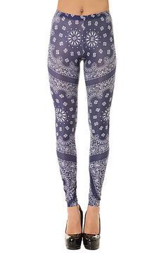 The Luda Legging in Blue by See You Monday