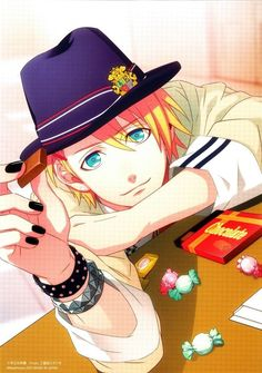 Syo feeding you chocolate Uta no prince-sama
