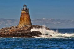 Maine Lighthouses and Beyond: Saddleback Ledge Lighthouse