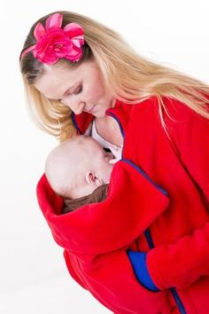 Carry your baby close to your heart. Great selection of quality handmade babywearing coats, ponchos, and other clothes. Babywearing, Baby Car Seats, Bean Bag Chair, Children, Coat, Clothes, Collection, Young Children, Outfits