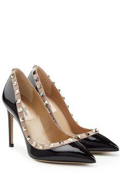Lackleder-Pumps Rockstud   Valentino Valentino Schuhe, Schuhe Online  Kaufen, Handtaschen, Damen 7b7450333f